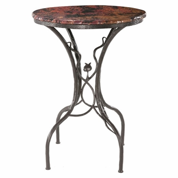 "Sassafras Bistro Table w/30"" Top"
