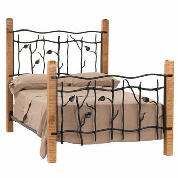 Sassafras Iron & Wood Bed