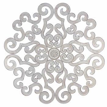 """38"""" Scroll Wall Grill - Ant White"""