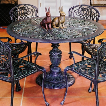 Sea Island Pedestal Table