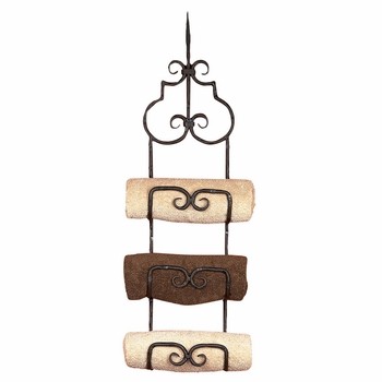 Siena Triple Towel Rack