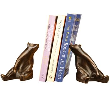 Sitting Bear Bookends (Pair)