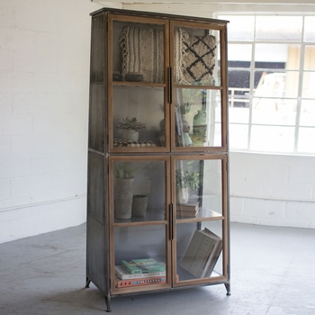 Slanted Display Cabinet