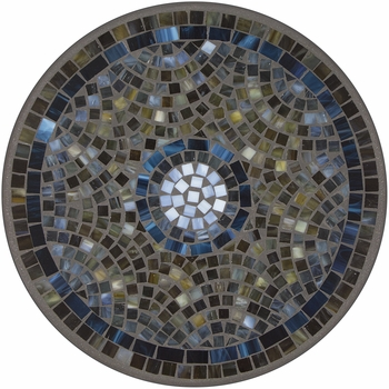 Slate Glass Mosaic