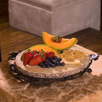 Small Marble Lazy Susan