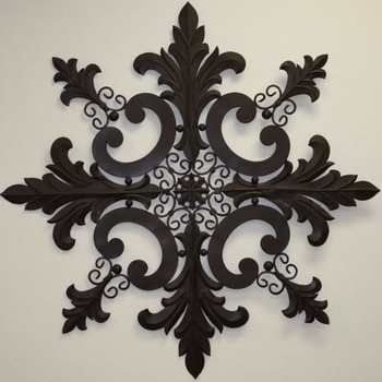 Snowflake Design Wall Plaque -50""