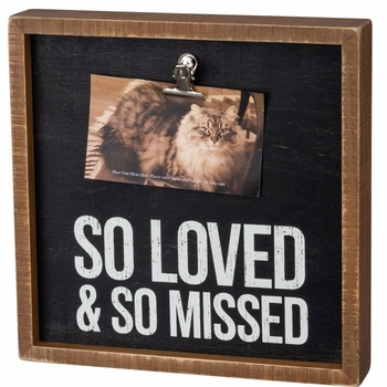 So Loved & So Missed Photo Frame