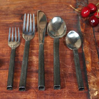 Square Forged Cutlery (5-pc)