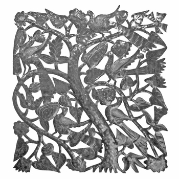 Square Tree of Life Plaque