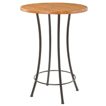"Standard Bar Table with 30"" Top"