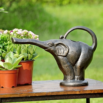 Standing Elephant Watering Can