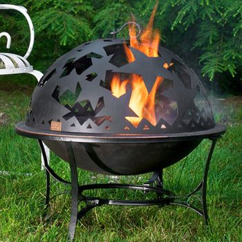 Fire Pit w/Starry Night Fire Dome