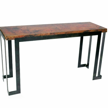 Steel Strap Console Table Base