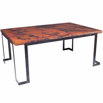 Steel Strap Dining Table Base