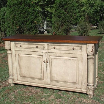 Hand-Craft Farmhouse Credenza