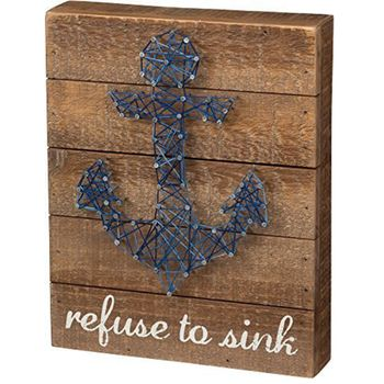 String  Art - Refuse To Sink