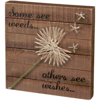 String Wall Art - Wishes -CS