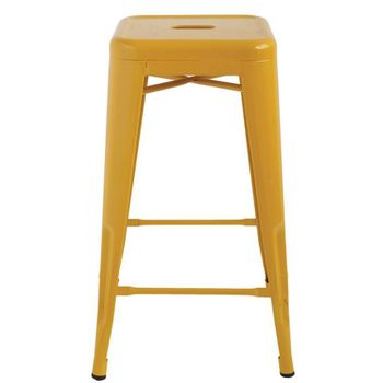 Sunshine Metal Stools (Set-2)