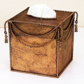 Swag & Tassel Tissue Box
