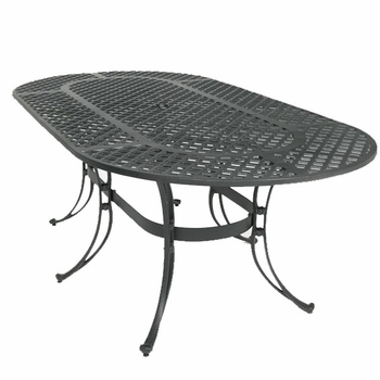"72"" Oval Patio Table"