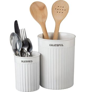 Table Talk - Utensil Holder Set