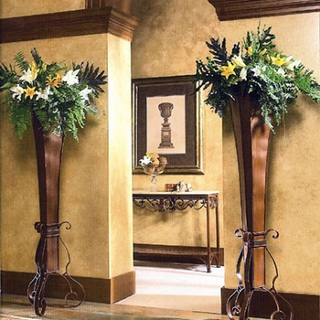 Tall Floor Urns (Set-2) -DS