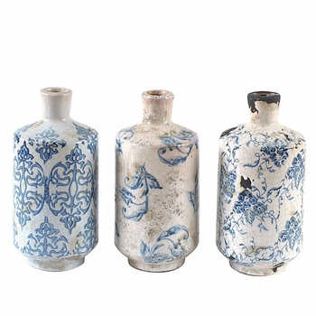 Transferware Vases (Set-3)