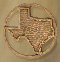 Texas Medallion Scarf Holders