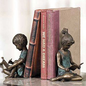 The Bookworms Bookends (Pair)