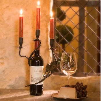 Three Vine Candle Holder