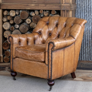 Todd Tufted Club Chair