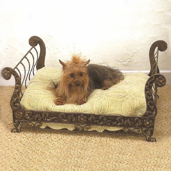 Tole Pet Sleigh Bed