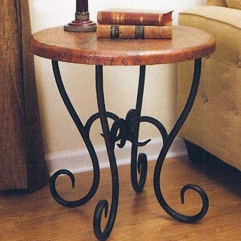 Toscana Round End Table