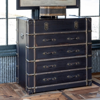 Traveler's Trunk with Drawers