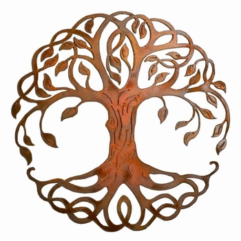 Tree of Life Metal Wall Art - Roots