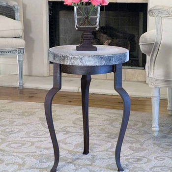 Versailles Table w/ Concrete Top
