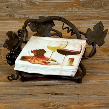 Vineyard Dinner Napkin Holder