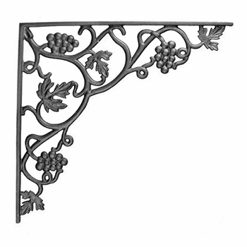 Vineyard Iron Shelf Bracket