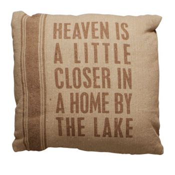 Sack Pillow - By The Lake