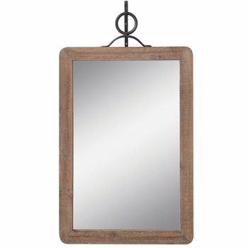 Wall Mirror w/ Metal Bracket