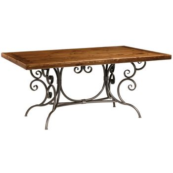 Wrought Iron Dining Tables Iron Furniture Iron Accents