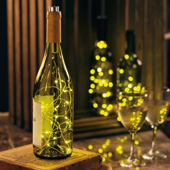 White Wine Bottle Lights