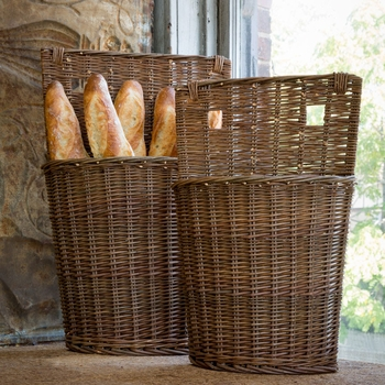 Willow Bin Baskets (Set-2)