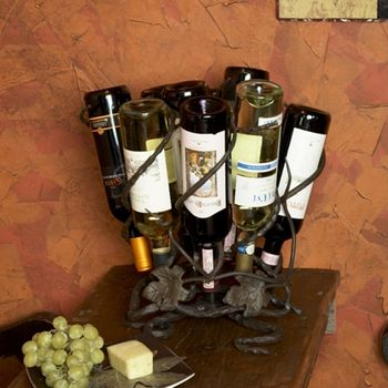 Wine Lazy Susan - 9 bottle