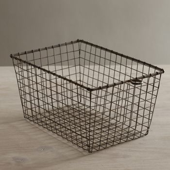 Wire Locker Basket - (Set-6)