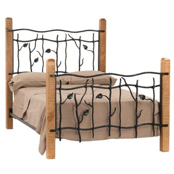 Wood & Iron Beds