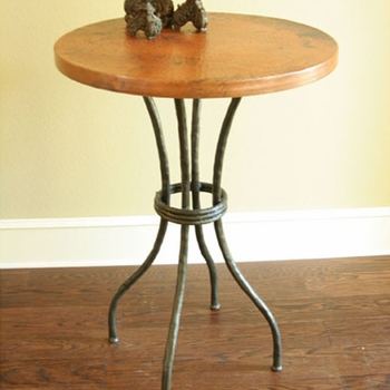 "Woodland Bar Table with 30"" Top"