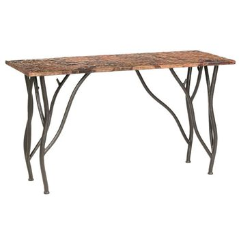 Woodland Console Table with Top