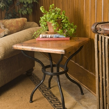 Woodland End Table with Top