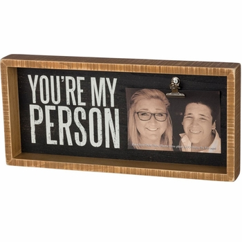 You're My Person Photo Frame